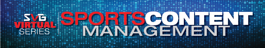 2020 SVG Sports Content Management Virtual Series