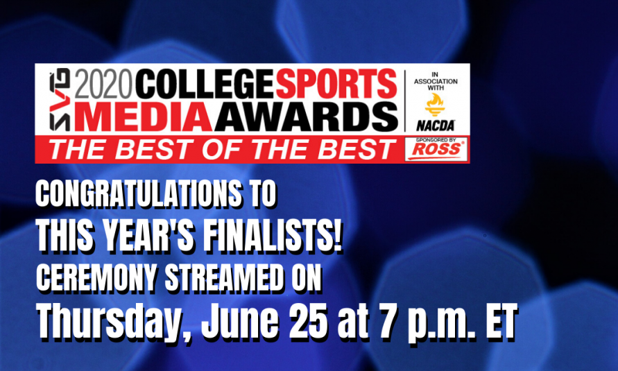 Sports Video Group Unveil Finalists for 2020 SVG College Sports Media Awards