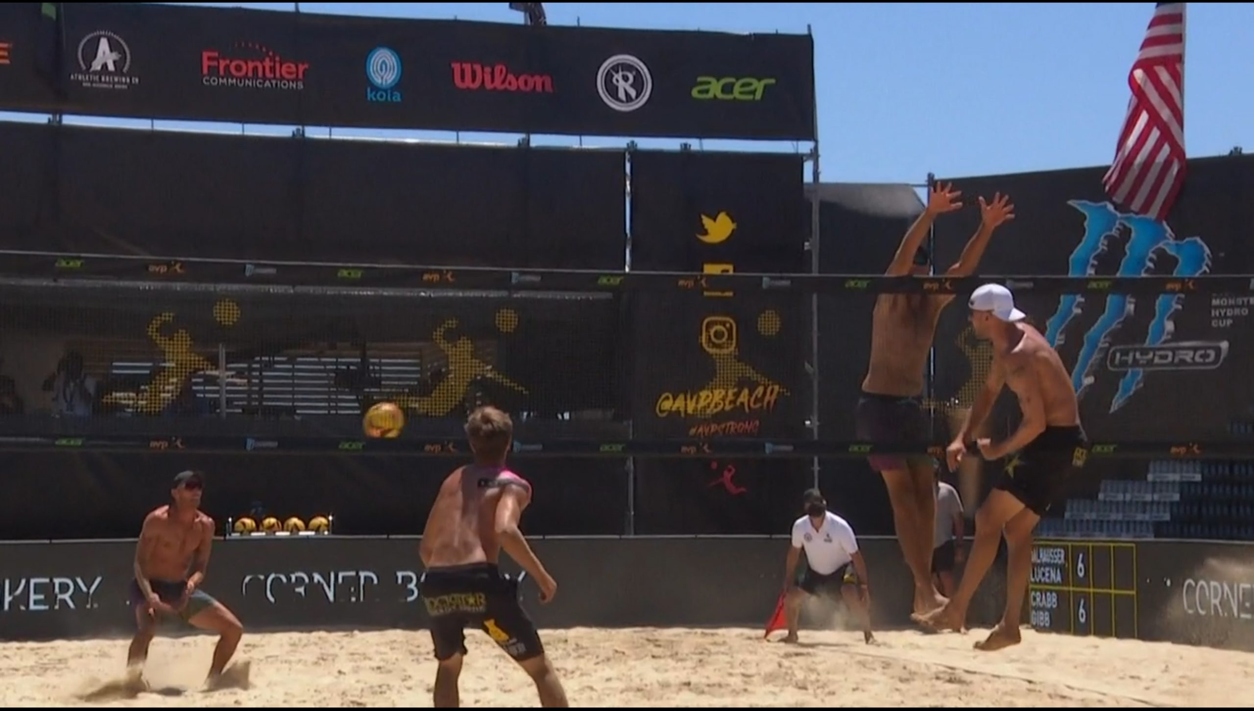 Avp Champions Cup Series Offers Live Socially Distanced Beach Volleyball On Nbc Amazon Prime