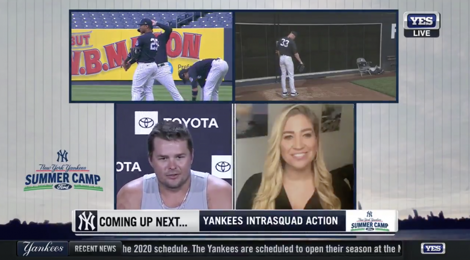 YES Network Deploys Robotic Cameras, Remote Production for <i>Yankees Summer Camp</i> Intrasquad Scrimmages
