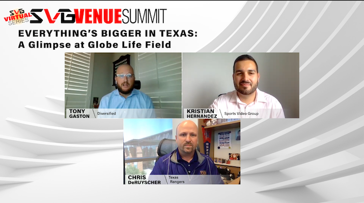 2020 SVG Venue Summit Virtual Series –Everything's Bigger in Texas: A Glimpse at Globe Life Field: REGISTER HERE TO WATCH