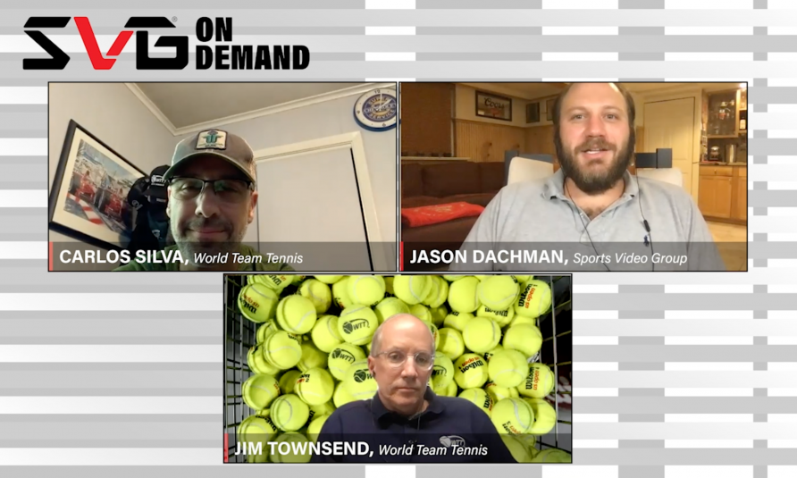 "SVG On Demand: World TeamTennis CEO Carlos Silva, EP Jim Townsend Dissect the Production In The Greenbriar ""Bubble"""