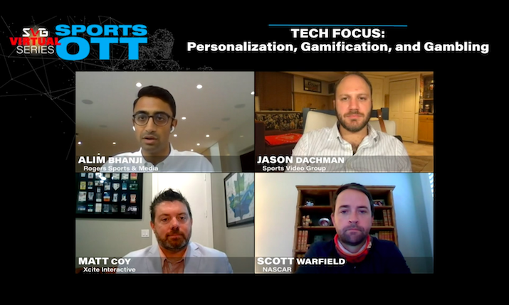 2020 SVG Sports OTT Virtual Series – Tech Focus: Personalization, Gamification, and Gambling: REGISTER HERE TO WATCH