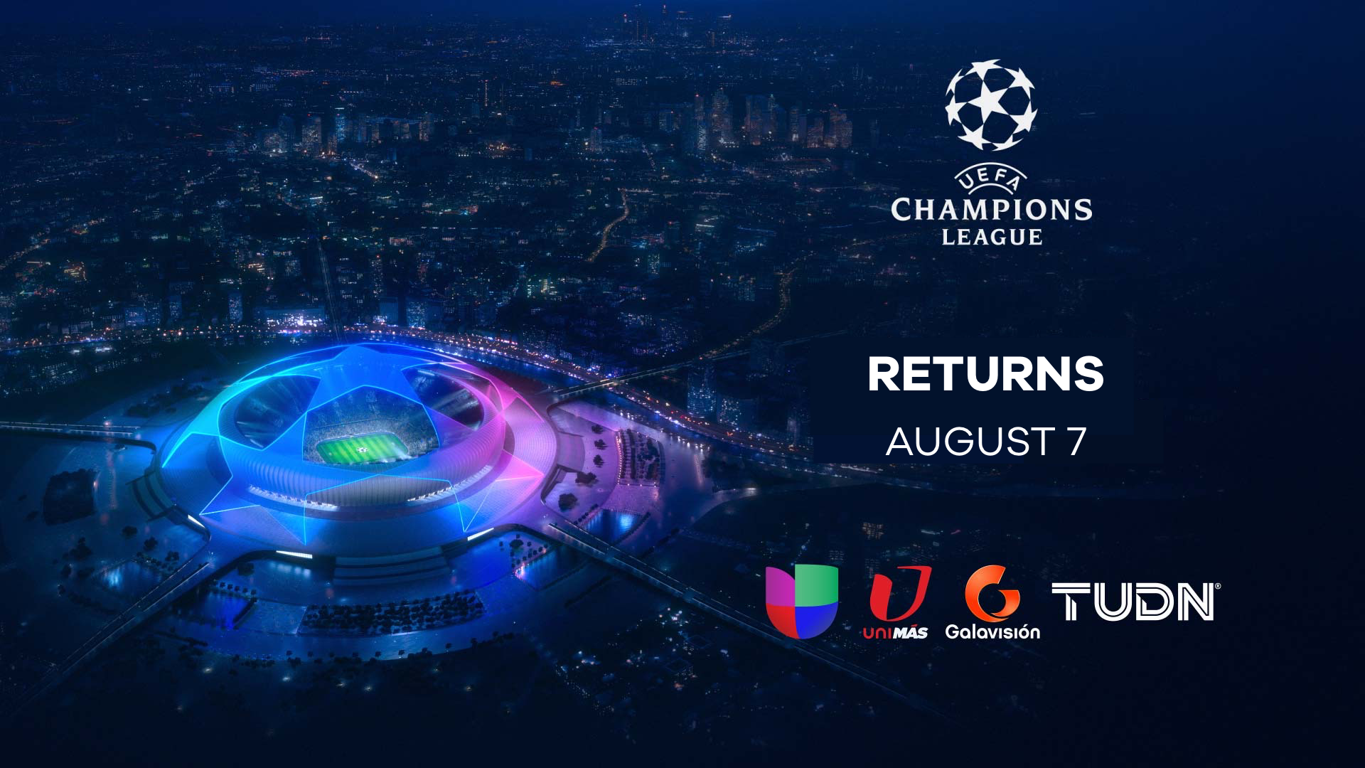 univision s tudn to air resumption of 2019 20 uefa champions league on broadcast cable tv uefa champions league