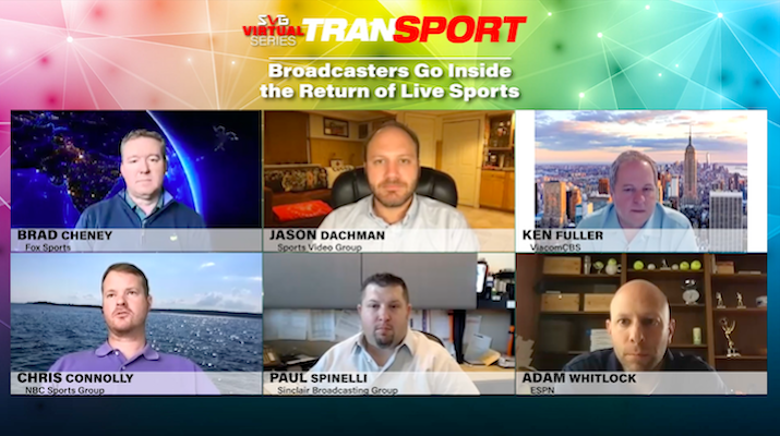 2020 SVG TranSPORT –Broadcasters Go Inside the Return of Live Sports: REGISTER HERE TO WATCH