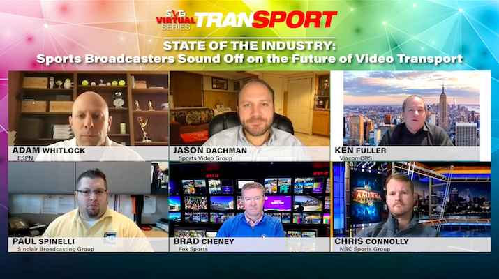 2020 SVG TranSPORT –State of the Industry: Sports Broadcasters Sound Off on the Future of Video Transport: REGISTER HERE TO WATCH