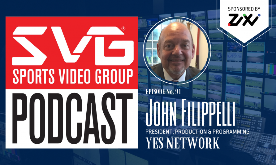 <i>The SVG Podcast:</i> John Filippelli, President of Production and Programming, YES Network
