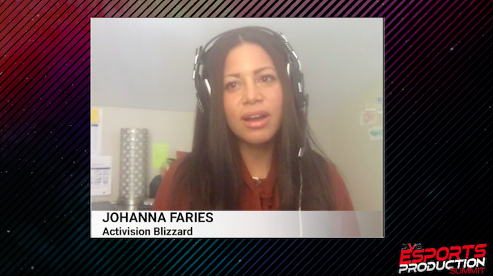 Opening Keynote Conversation: Call of Duty League Commissioner Johanna Faries – CLICK HERE TO WATCH