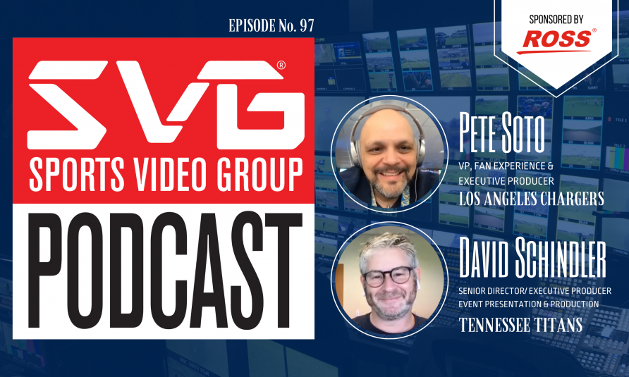 <i>The SVG Podcast:</i> Los Angeles Chargers' Pete Soto and Tennessee Titans' David Schindler