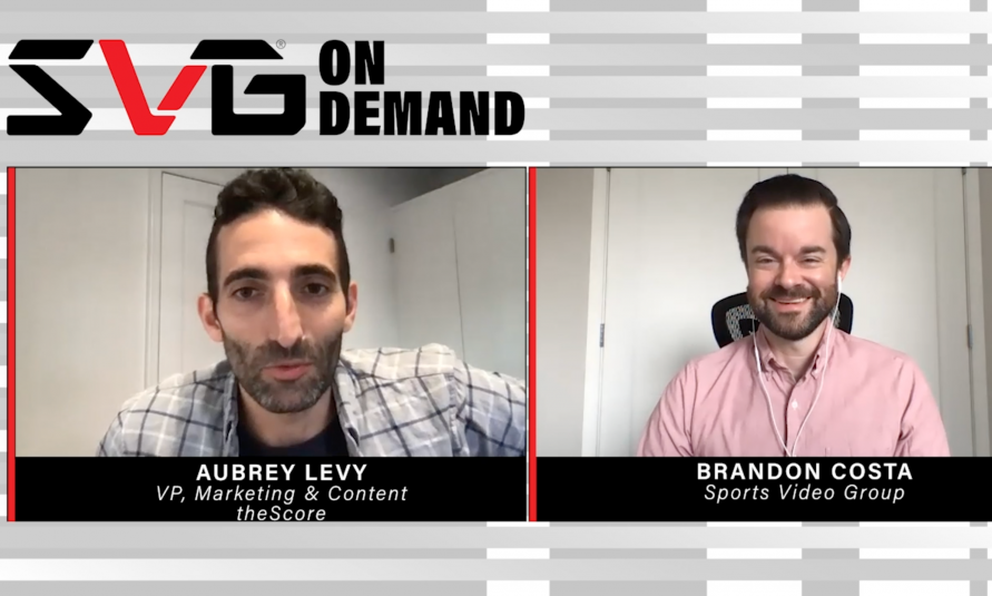 SVG On Demand: theScore's Aubrey Levy on How a Media Company Becomes a Sportsbook
