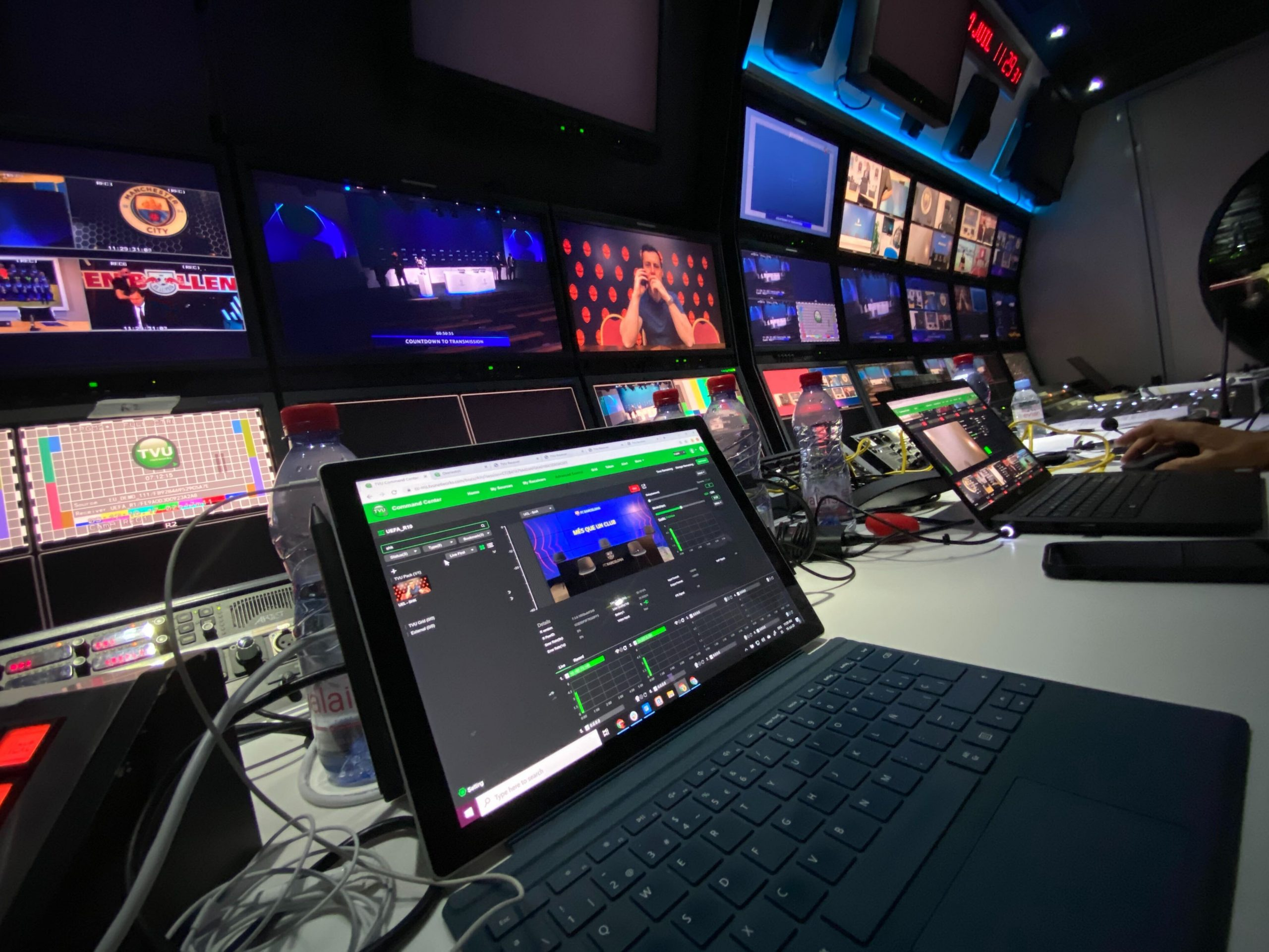 tvu networks plays part in live uefa 2020 21 champions league group stage draw helps fednet launch joint real time video content service tvu networks plays part in live uefa