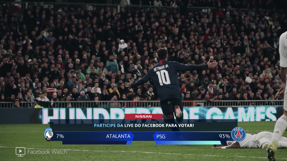 Inside Facebook's Live-Streaming Infrastructure, Strategy for Select Champions League Matches