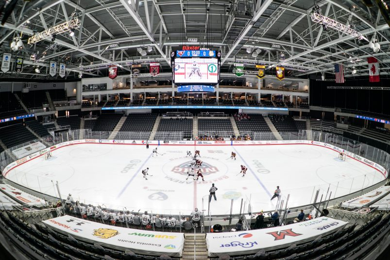 Despite Pandemic Challenges, Midco Sports Network Delivers NCHC Pod Action Via Centralized Production