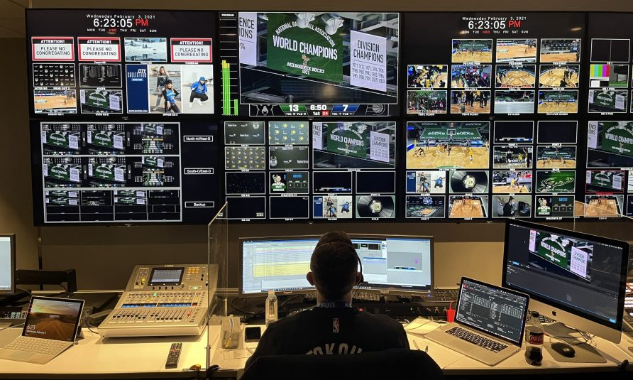 On the Hardwood: Take a Trip Behind the Control Room Door of 15 Organizations in the National Basketball Association