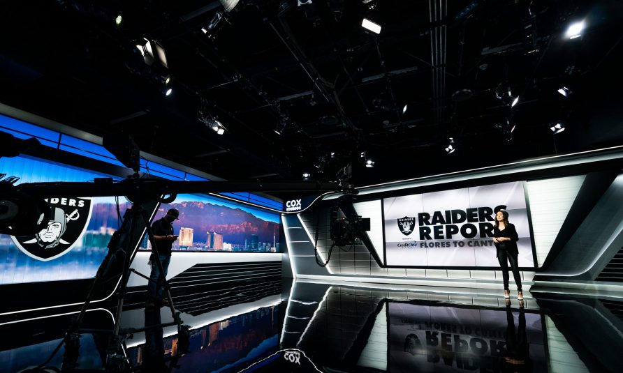 A Virtual Tour of the Las Vegas Raiders' New Studio at Intermountain Healthcare Performance Center