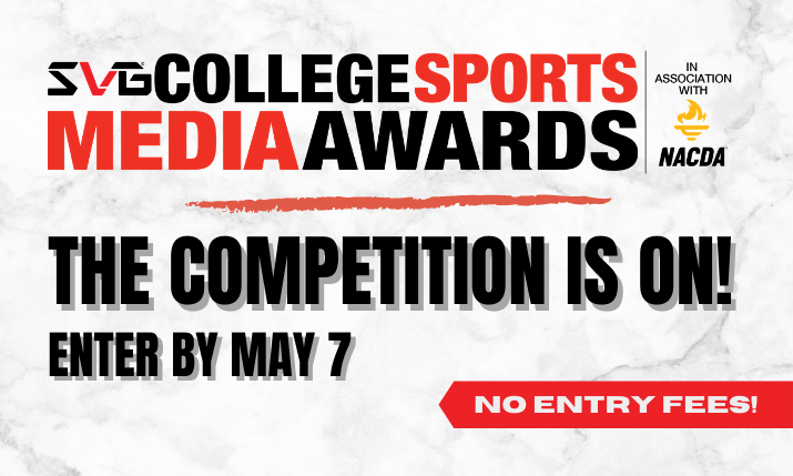 2021 SVG College Sports Media Awards: Enter By May 7!