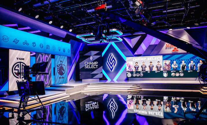 Inside Riot Games' New League of Legends Championship Series Studio