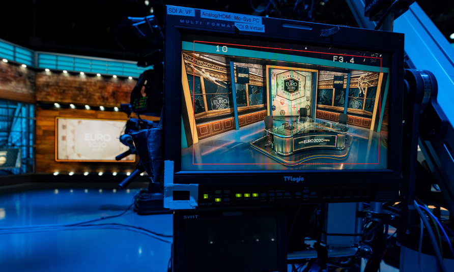 EURO 2020: ESPN Infuses Geography Into Tech-Heavy Bristol-based Studio Sets