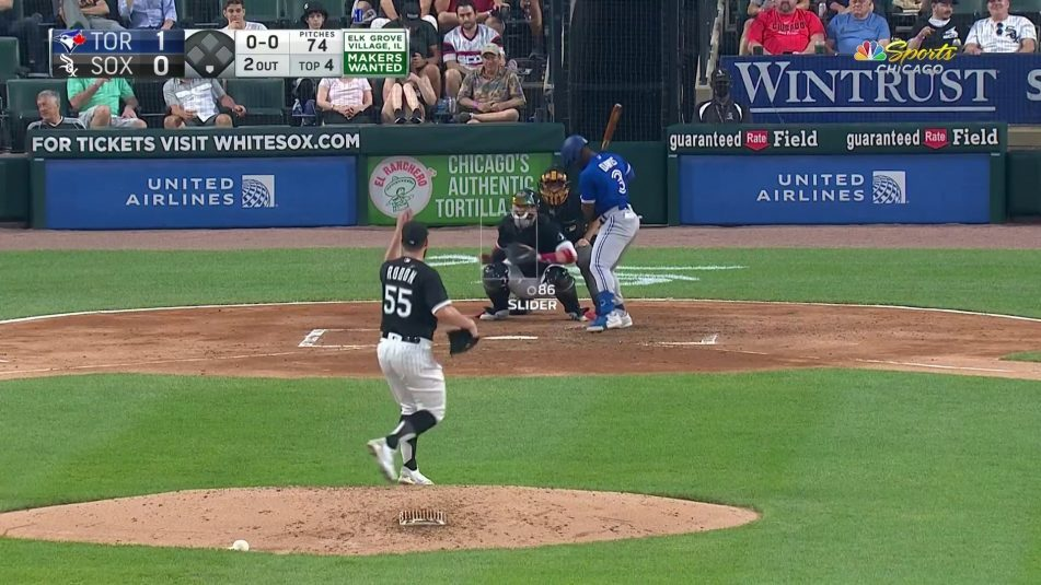 NBC Sports' New Pitch-Type Graphic on White Sox Games Draws Fan Praise, Interest From Other Broadcasters
