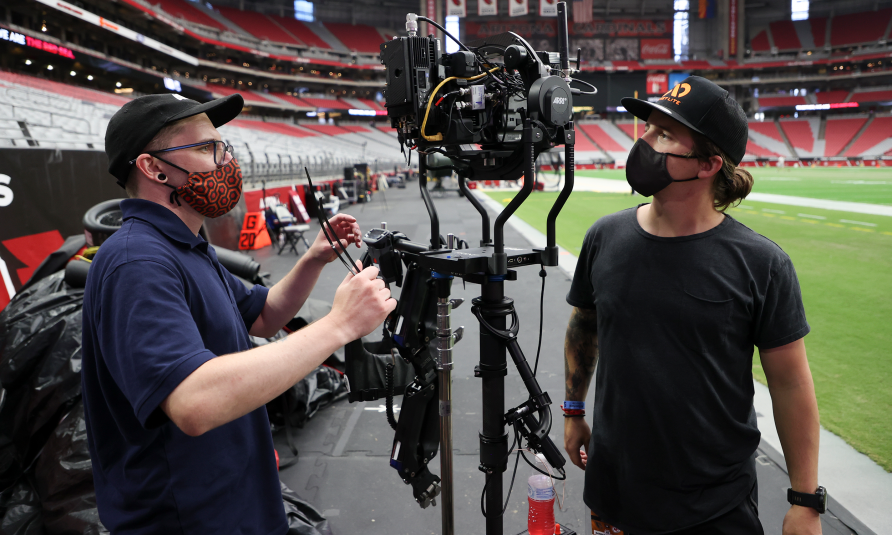 ESPN Debuts On-Field Camera System for <i>Monday Night Football</i> With Sony FX-9 on ARRI Trinity Stabilizer