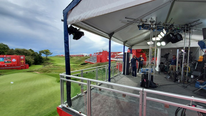 Live From the Ryder Cup: 2021 Production Is a Family Affair for Sky Sports and NBC Sports