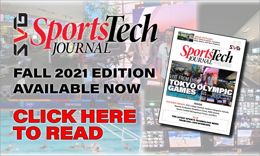 The Fall 2021 SVG SportsTech Journal Is Now Available Online!